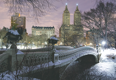 """Bow Bridge"", Central Park NY"