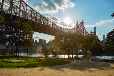 """Queensboro Bridge"", New York City"