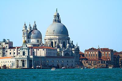 """""""Santa Maria della Salute"""", The Grand Canal, Venice, Italy"""