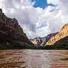 The Colorado River at the bottom of the Grand Canyon has wonderful calm moments