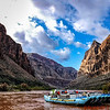 Western River Expeditions (WRE) white water rafting down the Colorado River