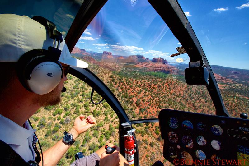 Doorless Helicopter Ride over Sedona - a photographic adventure!