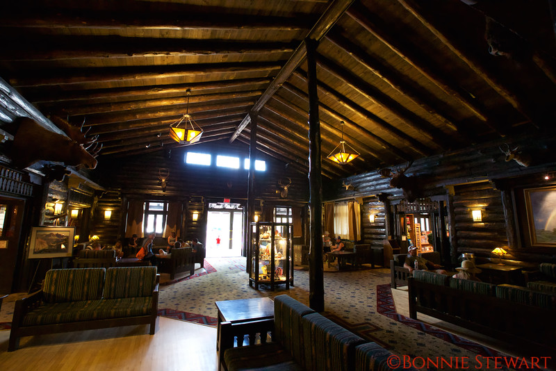 Lobby of the Historic El Tovar Hotel