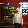 Frances Lyons at the Grand Canyon Caverns