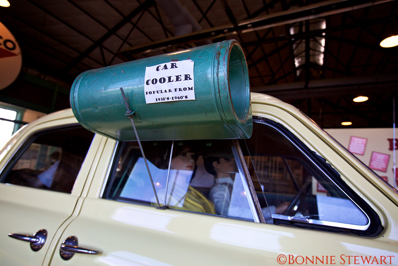 Early car air-conditioning!!!   Route 66 Museum