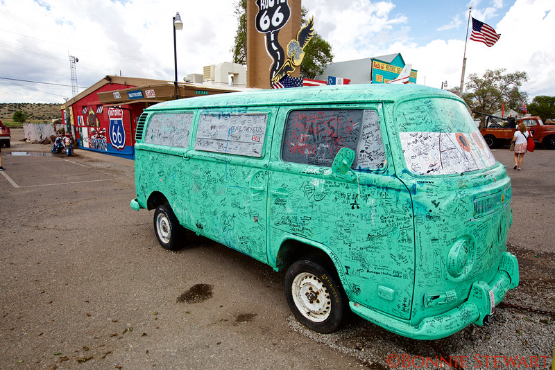 Old Hippie Van