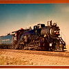 Old Photograph of the Grand Canyon Historic Steam Engine Locomotive