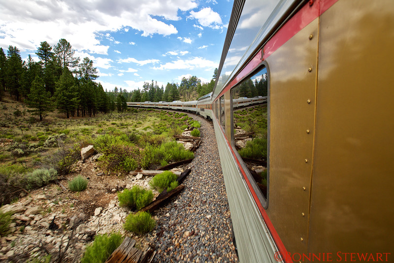View of the Grand Canyon Train