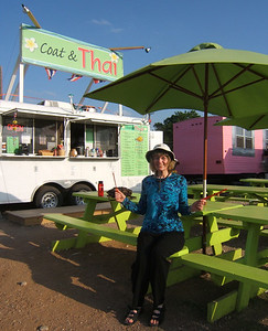 Austin is known for their food trailers. Some of them turned out very good food.