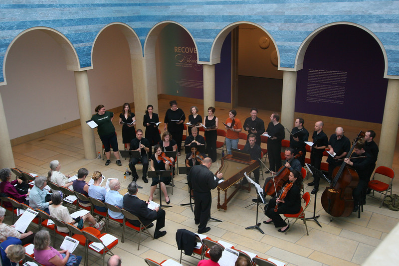 A free concert at the Blanton Art Museum