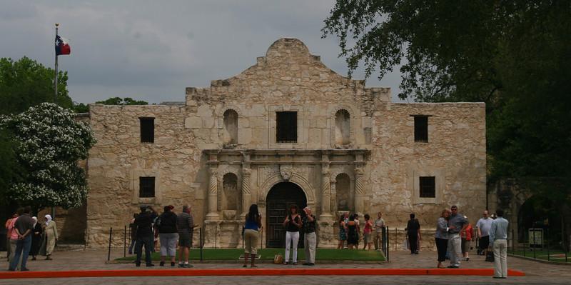 The Alamo in San Antonio