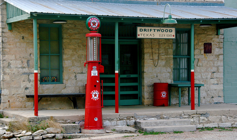 Driftwood is the home of the Salt Lick BBQ, one of a number of the Texas BBQ restaurants that have a national reputation.