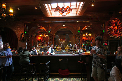 An interesting bar in Market Square in San Antonio