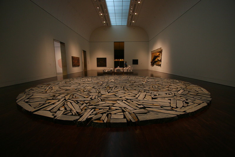 Exhibit at the Blanton Art Museum