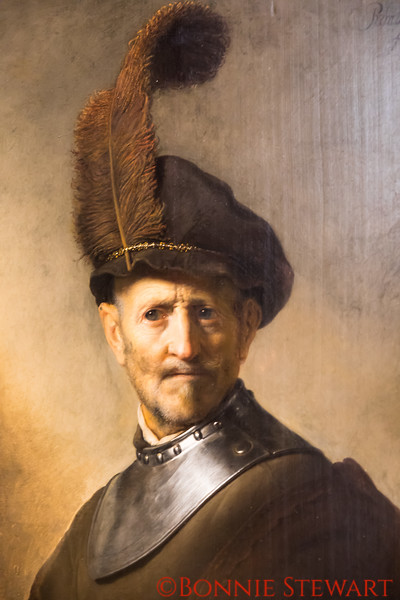 An Old Man in Military Costume, Dutch, Rembrandlt Harmensz van Rijn, 1630-31