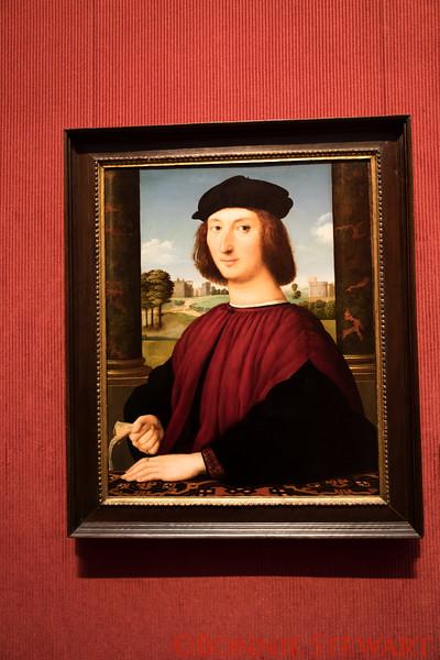 Portrait of a Young Man in Red, Italian, Circle of Raphael (Raffaello Sanzio), 1505