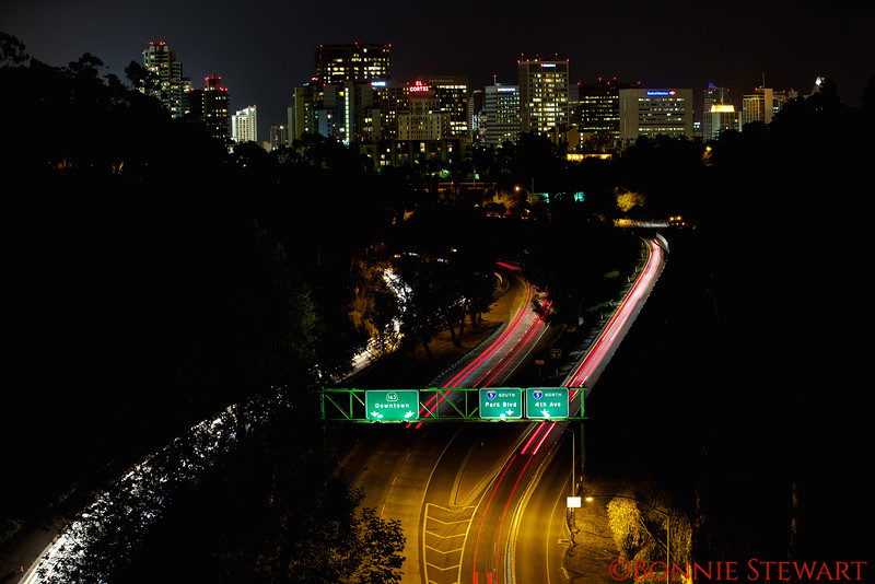 San Diego from Cabrillo Bridge
