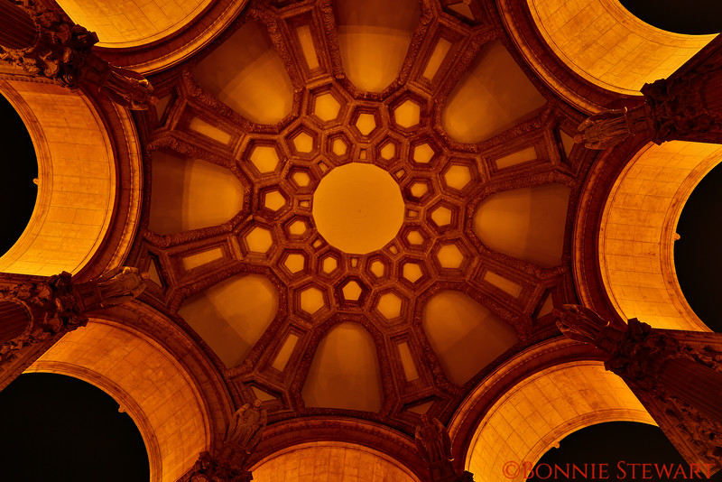 Ceiling of the Rotunda of the Palace of Fine Arts
