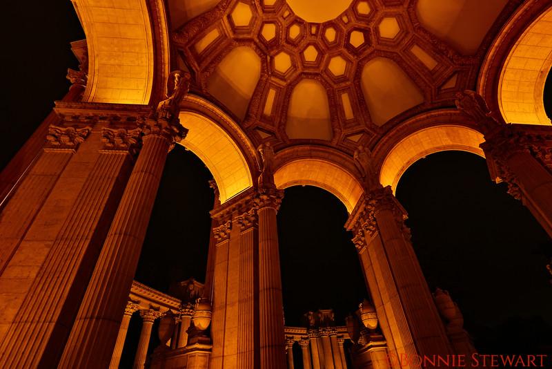 Inside the Rotunda of the Palace of Fine Arts
