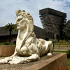 Sphinx Statue in front of the de Young Museum