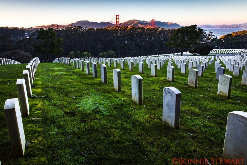 Presidio National Cemetery Overlook