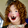 Laughing Sal - laughing!  Musee Mecanique,  Pier 45