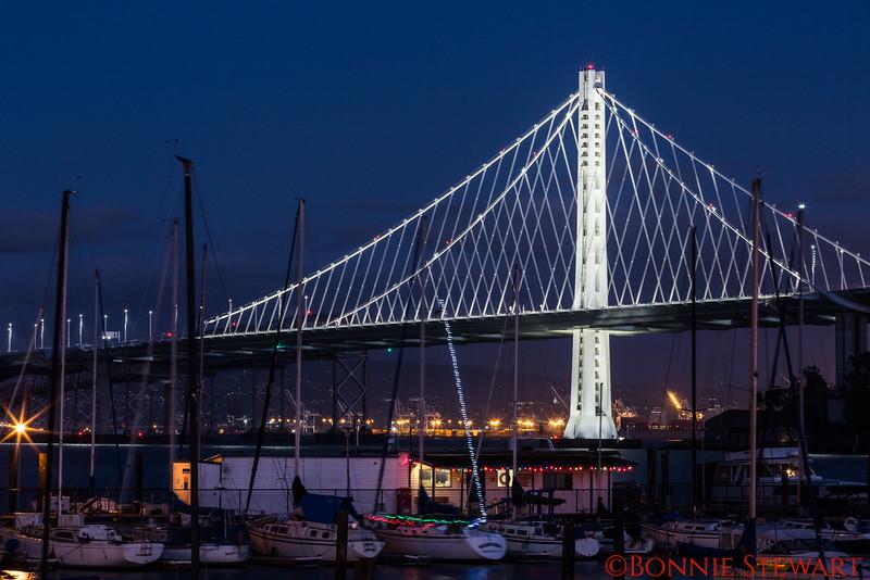 The new span of the San Francisco-Oakland Bay Bridge
