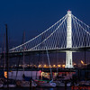 The new span of the San Francisco-Oakland Bay Bridge