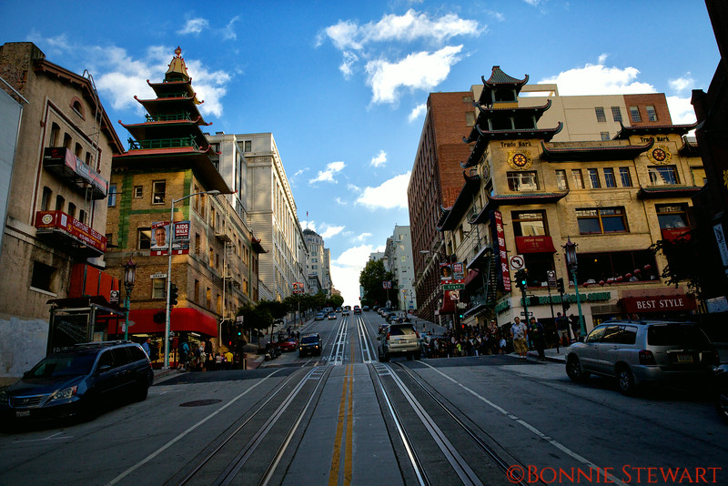 China Town from California Street