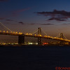 the San Francisco-Oakland Bay Bridge taken from Treasure Island