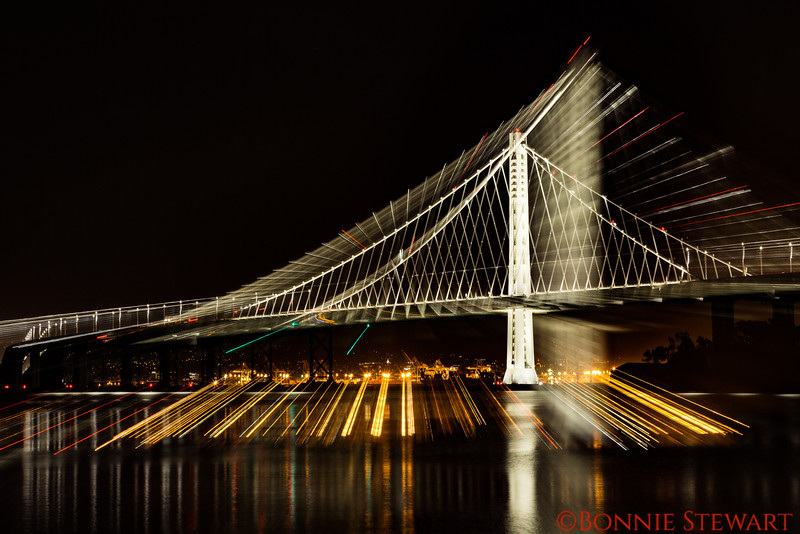 Zooming in on the San Francisco-Oakland Bay Bridge