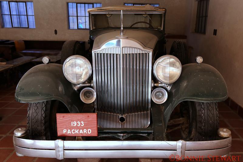 1933 Packard Car at Scottie's Castle