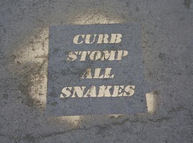 Intriguing Sidewalk Sign