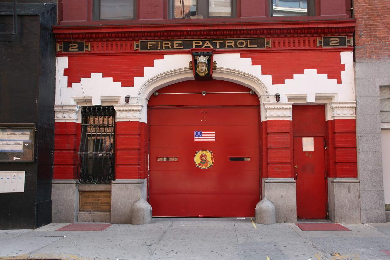 New Firehouse, Greenwich Village