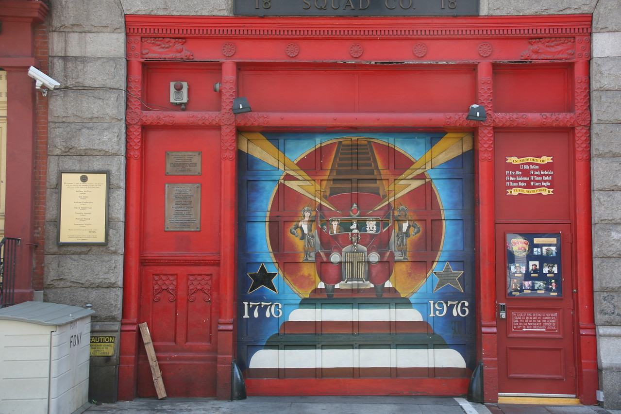 Old Firehouse, Greenwich Village