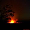 Kilauea Caldera Lava Vent at 3 am