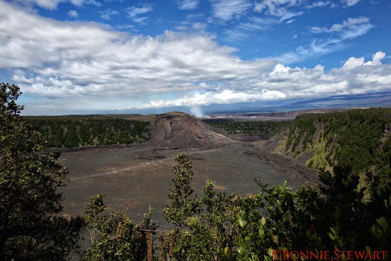 Kilauea Caldera at Noon