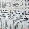 Names of the fallen soldiers who were on the USS Arizona when it burned and sank in WWII