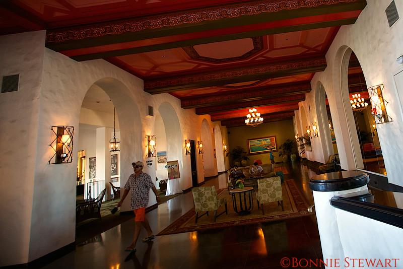 Royal Hawaiian Hotel Lobby