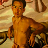 Nanea, 1937<br /> Oil on canvas<br /> Lloyd Sexton, American 1912-1990