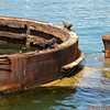 Remains of the USS Arizona