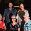 Francie Lyons, Roger Lyons, Julie Peterson, Bonnie, Petie Peterson