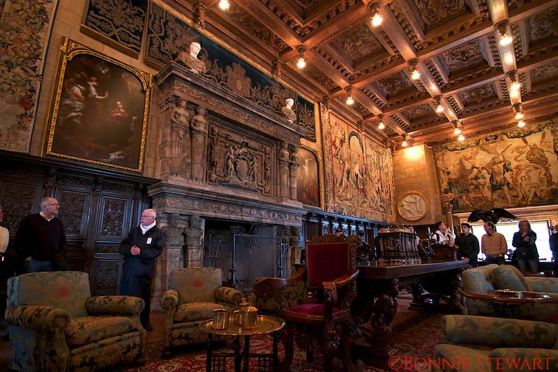 Hearst Castle Reception Room