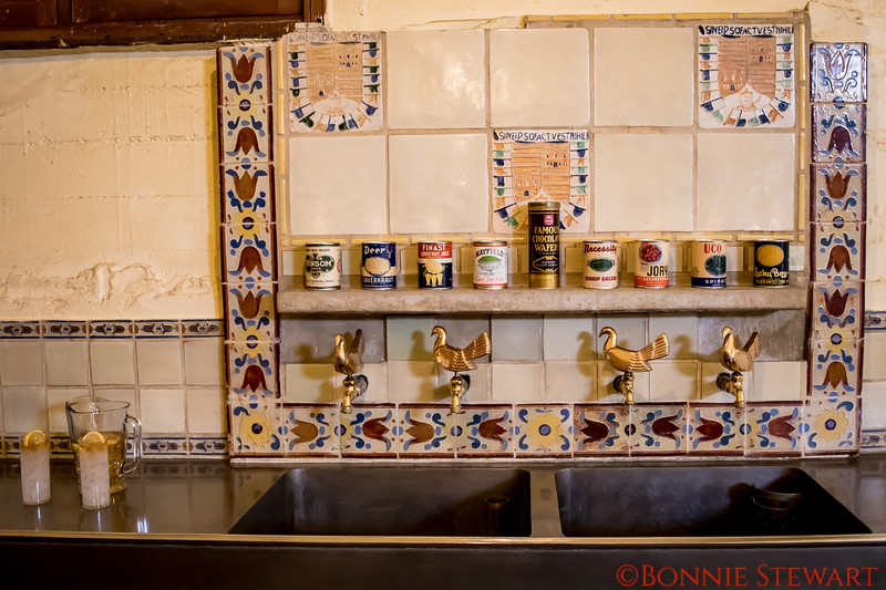 Hearst Castle Kitchen