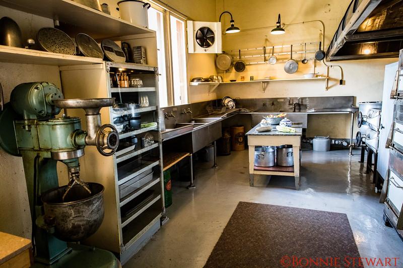 Hearst Castle Kitchen