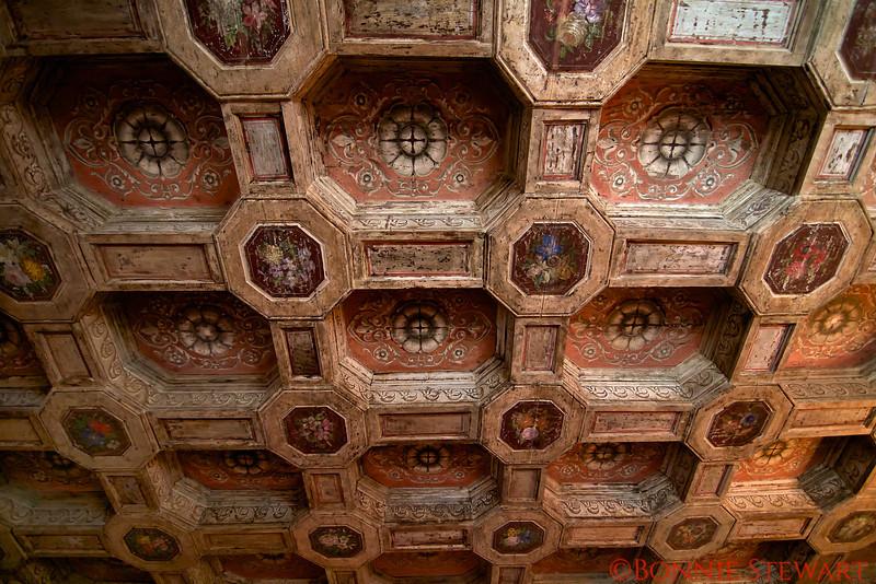Hearst Castle Ceiling Details