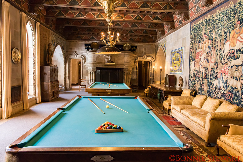 Hearst Castle Pool Tables