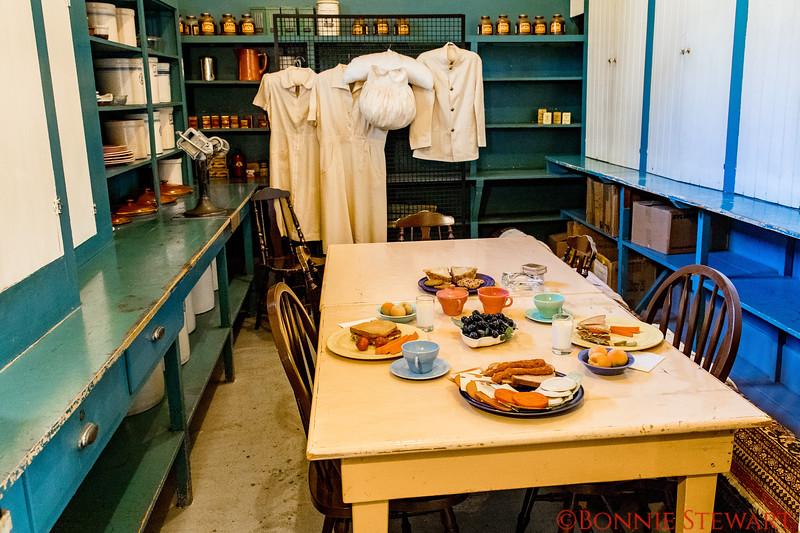 Kitchen Staff Dining area