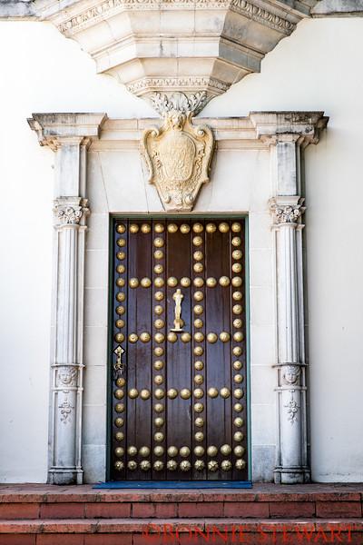 Hearst Castle Decorative Door