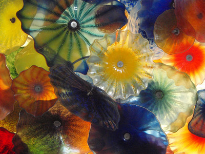 Chihuly Exhibit Closeup